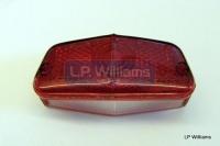 T120/T150 rear lens L564 genuine Lucas England