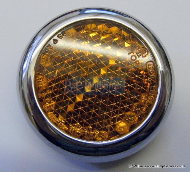 Lucas 57161 amber reflector