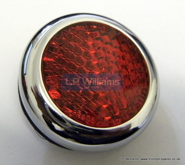 Lucas type 57124 red reflector