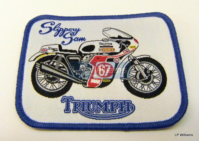 Slippery Sam badge Sew or Iron on