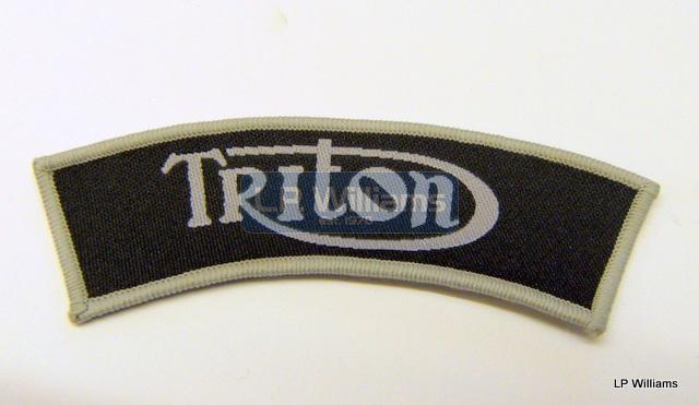 TRITON shoulder patch