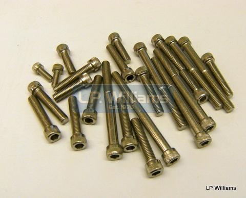 350/500 pre-68 allen screw set Cycle thread 26TPI