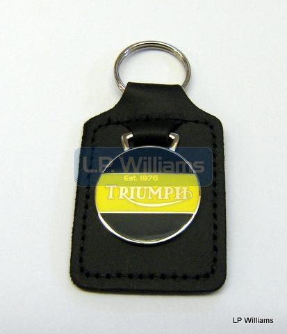 Triumph Key Fob Yellow