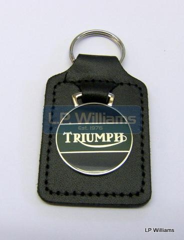 Triumph Key Fob Green