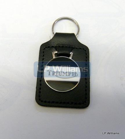 Triumph Key Fob White