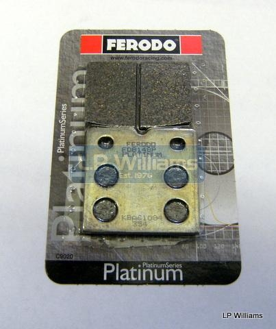 Harris T140 Brembo brake pads (Pair) Semi sintered