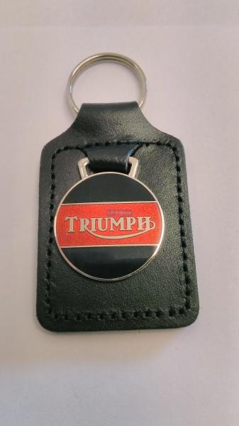 Triumph Key Fob Red