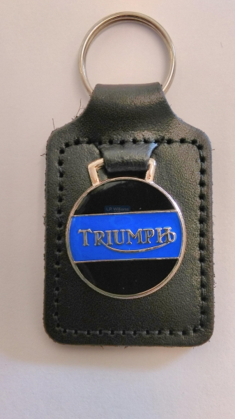 Triumph Key Fob Blue