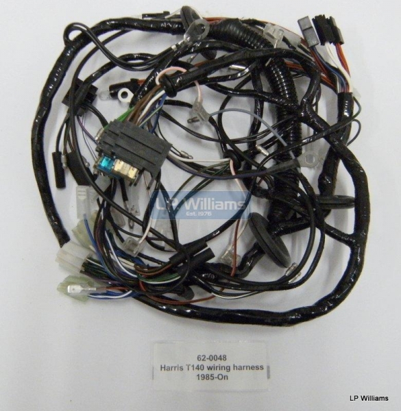 Harris T140 wiring harness