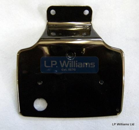 Tail lamp support plate