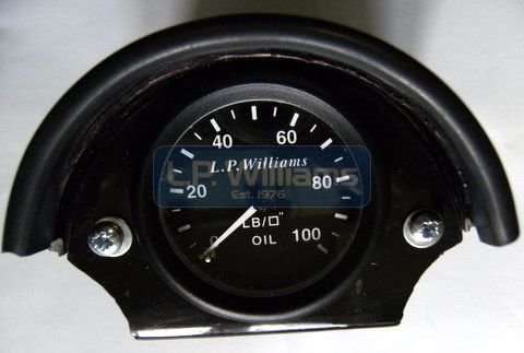 Oil pressure gauge kit including instructions,