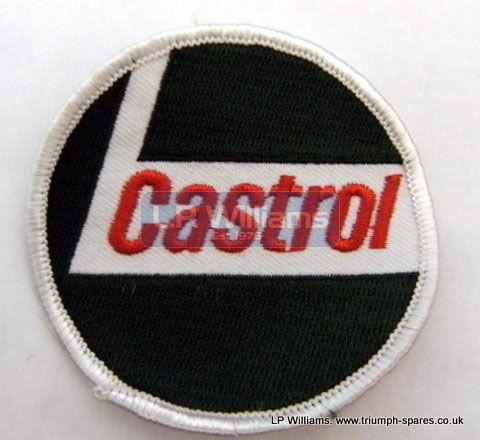 CASTROL Round sew on badge