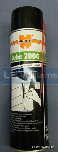 Wurth Lube 2000 penetrating oil