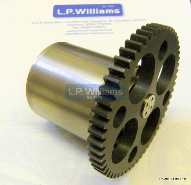 T150 T160 A75 High capacity triple oil pump assy. 50-30 Ratio