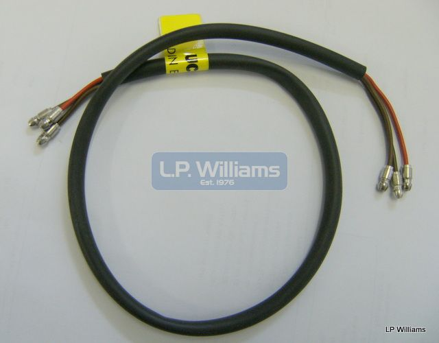 Stop tail rear sub harness 3 core 22ins long