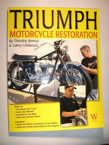 Triumph restoration by Tim Remus.Twins 1959 to 1970
