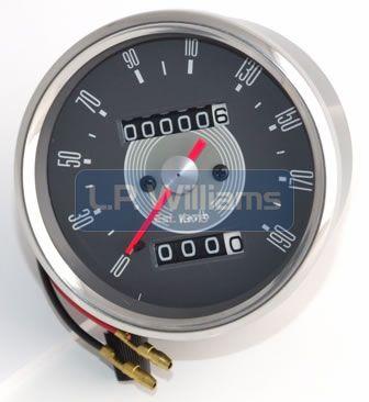 KPH Grey speedo fits 1966 to 1970 1.25:1 ratio