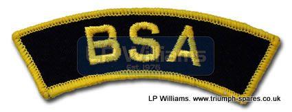 BSA shoulder patch