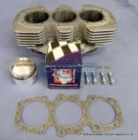 Trident 850cc barrel & pistons 9.5:1 Omega pistons T150 T160 A75