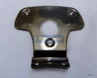 Rear light backing plate