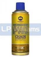 Morris Pro synthetic chain lube 400ml (was MLR)