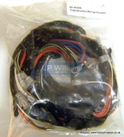 T160 Braided Wiring harness incl solenoid harness