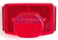 Tail light lens T140 T150 T160 UK  Replica