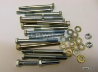 T160 Crankcase bolts set incl washers stud and nuts