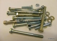 T150 A75 Crankcase bolts set incl studs washers and nuts