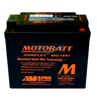 T160 (Heavy Duty) MotoBatt battery 21Ah  CCA-310 Maintenance free sealed battery.  Dimensions are 175 long x 87 wide x 155 high