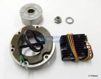 High output alternator kit. single  phase Pos or Neg earth