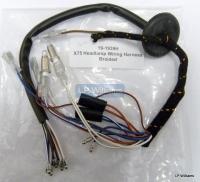 X75 Headlamp wiring harness braided