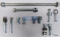 T160 Engine to frame bolt set incl spacers