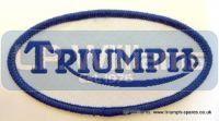 Triumph oval badge