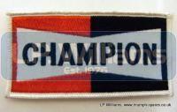Champion sew on badge oblong