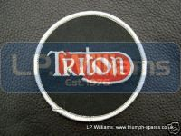 TRITON blazer badge