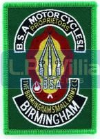 BSA Piled Arms badge